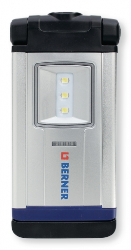 BERNER Premium Pocket deLux Bright LED Aluminium